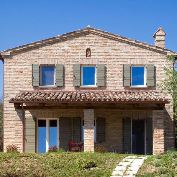 Ristrutturazione casale in pietra sulle colline di pesaro - Ristrutturare casale in pietra ...