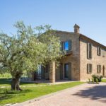 stone farmhouse upon the hills of Pesaro