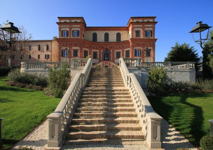 Ancient villa in Jesi town
