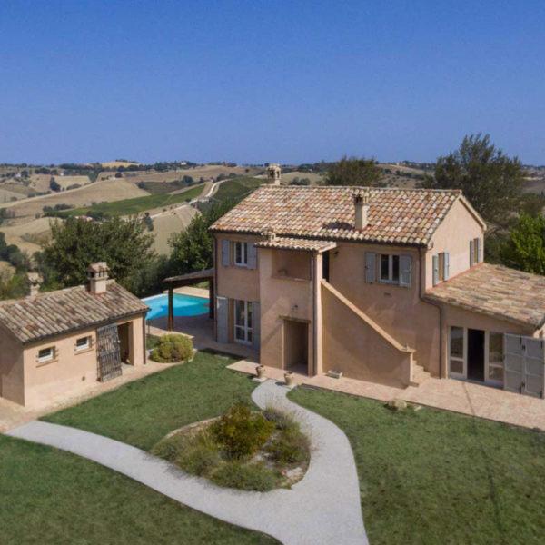 Farmhouse Upon The Hills Of Morro Dalba Sergio Marinelli Architect