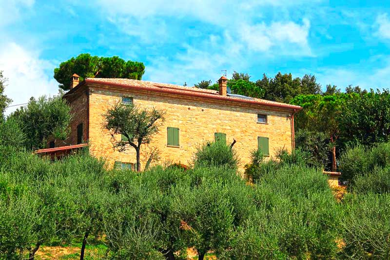 ristrutturazione di una villa storica a Pesaro